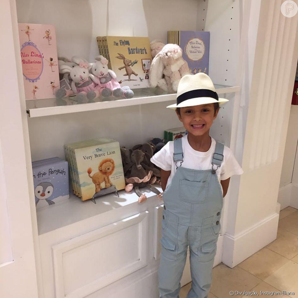 Eliana é mãe do pequeno Arthur, de 6 anos: 'Deus te abençoe e te proteja meu filho'