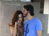 Fátima Bernardes e Túlio Gadêlha são fotografados após passeio por shopping