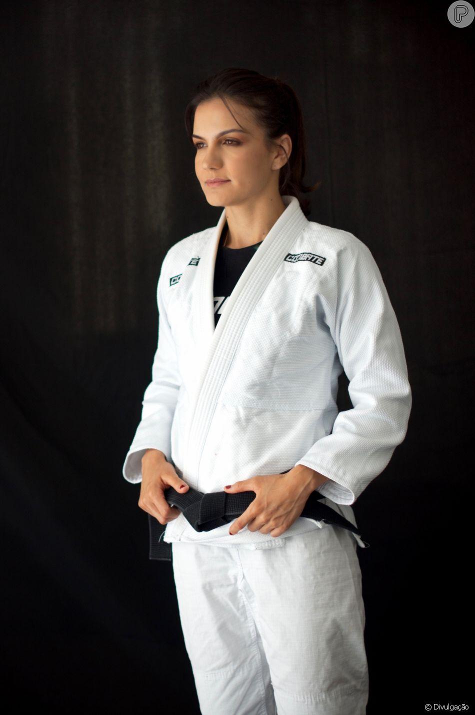 Kyra Gracie destaca machismo no cenário internacional do jiu-jitsu em entrevista ao Purepeople nesta quinta-feira, dia 29 de março de 2018familia-kura1