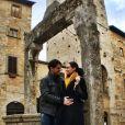 Débora Nascimento e José Loreto foram para a Itália no início da gravidez da atriz