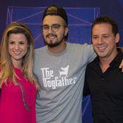 Dony De Nuccio leva namorada, Larissa Laibida, ao show de Luan Santana. Fotos!