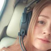 Marina Ruy Barbosa passeia de helicóptero com marido, Xande Negrão: 'Meu piloto'