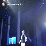 Larissa Manoela se declara ao namorado em show de Luan Santana: 'Só quero você'