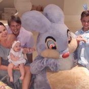 Eliana mostra foto de Páscoa ao lado dos filhos e do noivo, Adriano Ricco: 'Paz'