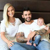 Gusttavo Lima anuncia nome do segundo filho com Andressa Suita: 'Samuel'
