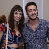 Marcos Veras e namorada, Rosanne Mulholland, curtem show de Lulu Santos. Fotos!
