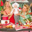 Karina Bacchi mostrou os detalhes da festa de 8 meses do filho, Enrico