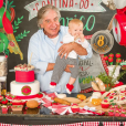 Karina Bacchi fez um post sobre os oito meses do filho, Enrico