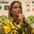 Anitta participou de conferência em Havard, no Estados Unidos