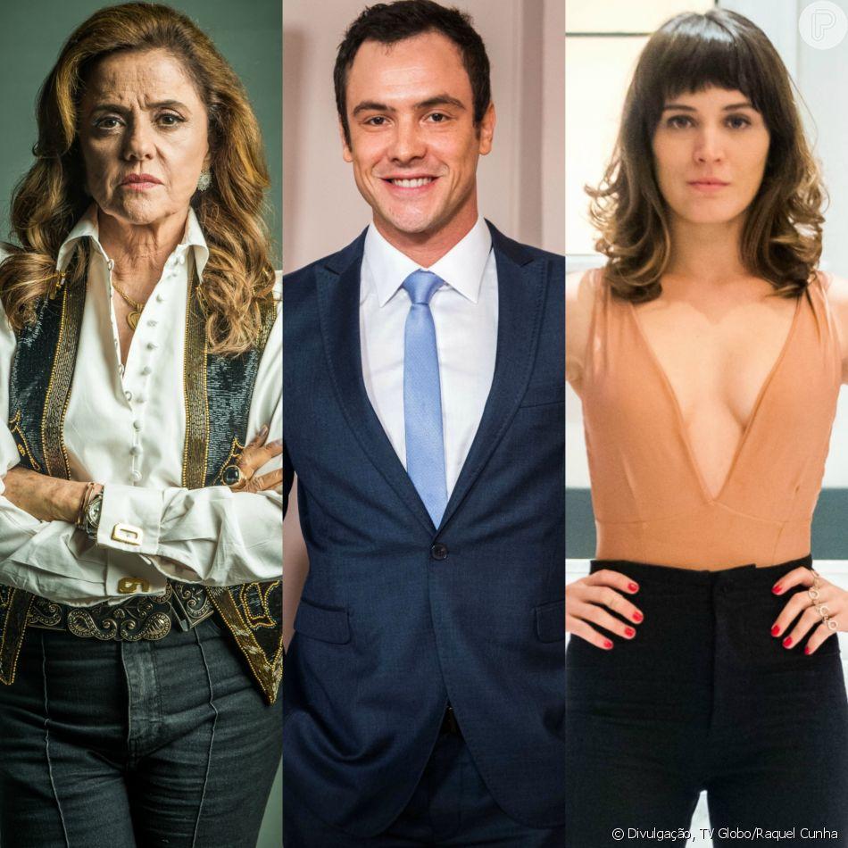 Gael (Sérgio Guizé) deve morrer para salvar Clara (Bianca Bin) de Sophia (Marieta Severo) no final da novela 'O Outro Lado do Paraíso'