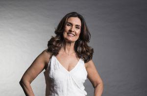 Fátima Bernardes evita looks animal print. 'Não gosta muito', conta figurinista