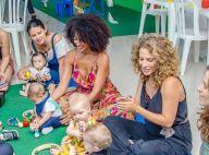 Sheron Menezzes vai à festa de 6 meses de Gael, filho de Maíra Charken. Fotos!