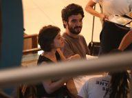 Caio Blat curte cinema com Luisa Arraes, apontada como namorada. Veja fotos!