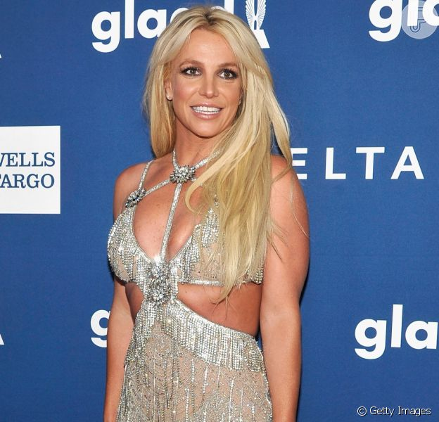 Britney Spears prestigia a 29ª edição do GLAAD Awards, no hotel Beverly Hilton, em Beverly Hills, na Califórnia, nesta quinta-feira, 12 de abril de 2018