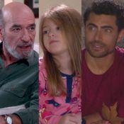 'Carinha de Anjo': após mal-estar, Adolfo passa a morar com Dulce e Gustavo