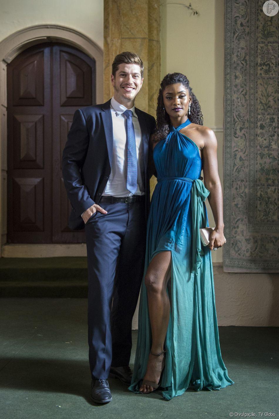 Erika Januza comemora final feliz de Raquel e Bruno em 'O Outro Lado do Paraíso': 'Amor venceu'