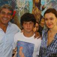 Atualmente, Miguel, filho de Julia Lemmertz e Alexandre Borges, está com 15 anos