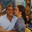 Alexandre Borges acompanhou o sucesso de Julia Lemmertz entre idas e vindas de Portugal