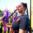 As tranças duplas se mostraram bem populares no Coachella  Valley Music and Arts Festival , realizado em Indio, na Califórnia, Estados Unidos, neste primeiro fim de semana, 13, 14 e 15 de abril de 2018