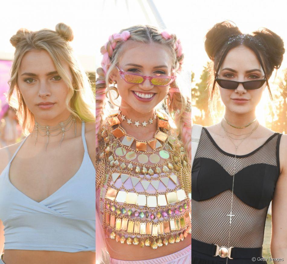 Penteados descolados invadiram o primeiro fim de semana do Coachella 2018!