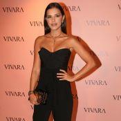 Mariana Rios elege corselet e pantacourt para prestigiar evento de joias. Fotos!