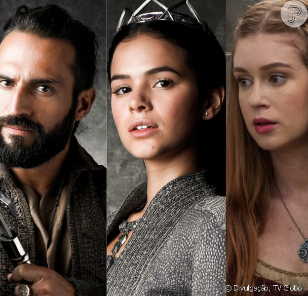 Catarina (Bruna Marquezine) mata Constantino (José Fidalgo) e Amália (Marina Ruy Barbosa) perde o pai nos próximos capítulos da novela 'Deus Salve o Rei'