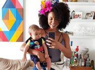 Sheron Menezzes cria Instagram para filho e não teme exposição: 'Gostam de ver'