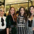 Marina Ruy Barbosa lança coleção e recebe amigas famosas