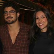 Viagem romântica! Caio Castro curte Londres com namorada, Mariana D'Ávila. Foto!