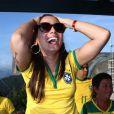 Anitta torceu pelo Brasil no último jogo da seleção contra o Chile na Copa do Mundo
