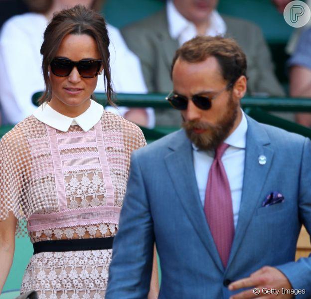 Pippa Middletono está grávida do primeiro filho com James Matthews, disse o jornal 'The Sun', em 22 de abril de 2018