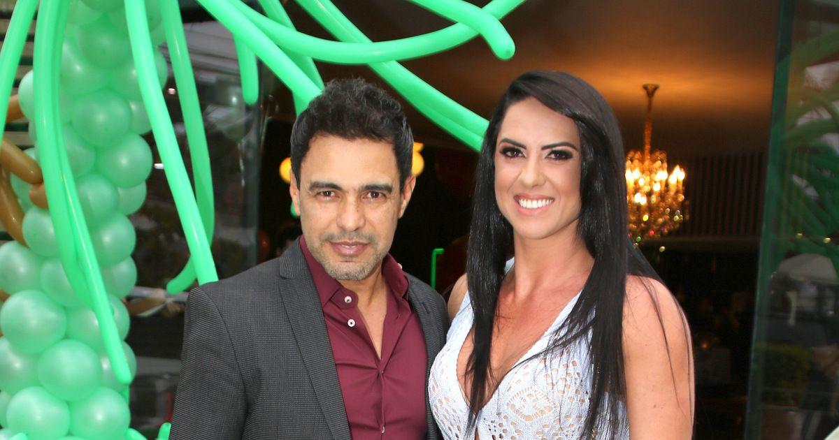 Graciele Lacerda admite sentir ciúmes de Zezé Di Camargo ao celular   Bate  uma desconfiança  - Purepeople 1dc2ddf20b