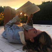 Mariana Goldfarb é clicada por namorado, Cauã Reymond: 'Pelos olhos do meu amor'