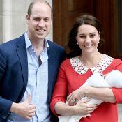 Com filho no colo, Kate Middleton deixa hospital acompanhada de William. Fotos!