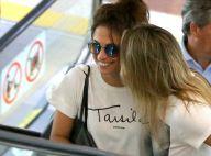 Fernanda Gentil troca carinho com namorada em aeroporto do Rio. Fotos!