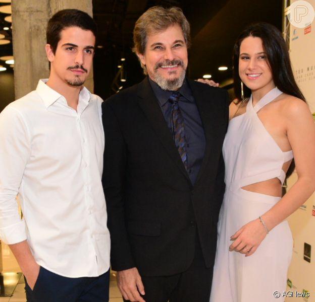 Edson Celulari lança filme 'Teu Mundo Não Cabe Nos Meus Olhos', no shopping Bourbon, em São Paulo, nesta segunda-feira, 23 de abril de 2018