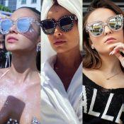 Óculos de sol Gucci com estrelas e brilho vira queridinho de famosos. Saiba mais