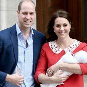 Príncipe William comenta nascimento do 3º filho: 'Dorme bem. Está comportado'