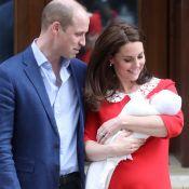 Nome revelado! 3º filho de Kate Middleton e príncipe William se chama Louis