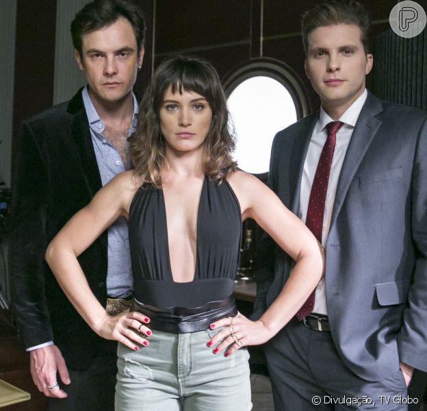 Clara (Bianca Bin) rejeita Gael (Sergio Guizé) para ficar com Patrick (Thiago Fragoso) no final da novela 'O Outro Lado do Paraíso'