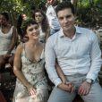 Patrick (Thiago Fragoso) e Clara (Bianca Bin) terminam juntos na novela 'O Outro Lado do Paraíso'
