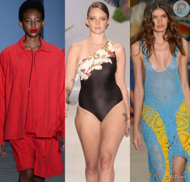 Moda genderless, modelo curve e looks feitos por detentos marcam a 45ª semana de moda do SPFW