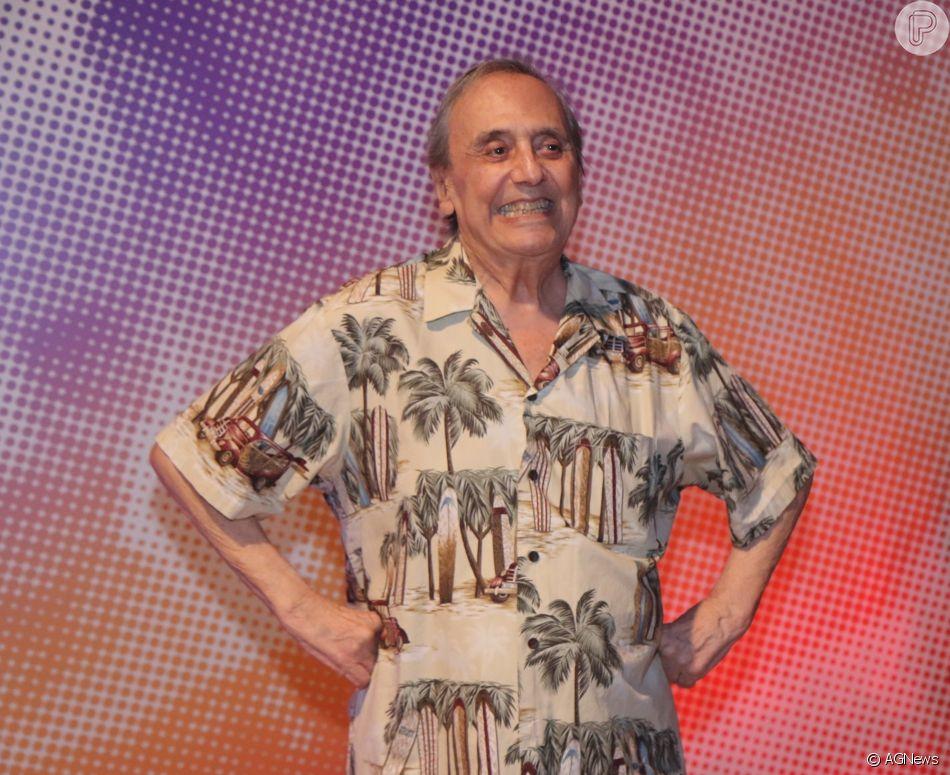 Agildo Ribeiro morreu aos 86 anos neste sábado, dia 28 de abril de 2018