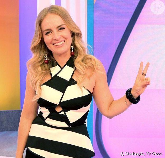 Angélica comendou neste sábado, 28 de abril de 2018, o último programa 'Estrelas'