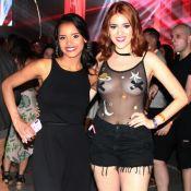 Gleici e Ana Clara curtem show de Luan Santana no Rio: 'Primeira saída pós-casa'