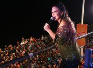 Ivete Sangalo faz 1ª show após chegada das gêmeas e conta com filho na bateria