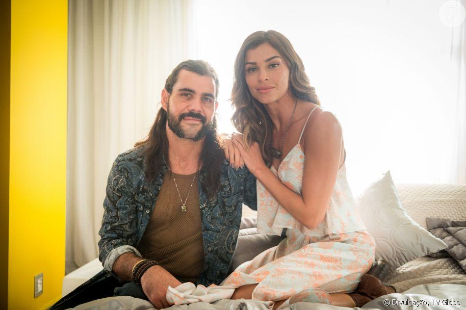 Lívia (Grazi Massafera) conta a Mariano (Juliano Cazarré) que eles serão pais no último capítulo da novela 'O Outro Lado do Paraíso'