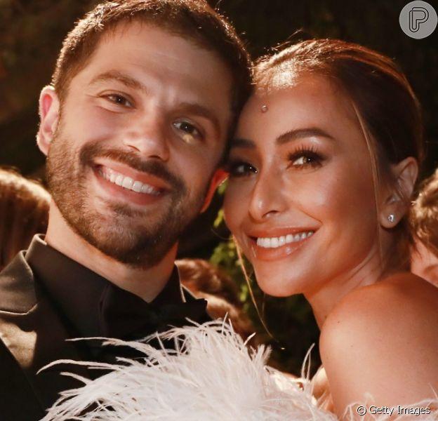 Sabrina Sato está grávida do primeiro filho de Duda Nagle. A informação foi dada pelo jornalista Leo Dias no programa 'Fofocalizando'