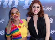 Anitta recebe ex-BBB Ana Clara e Caetano Veloso em show: 'Que honra'. Fotos!