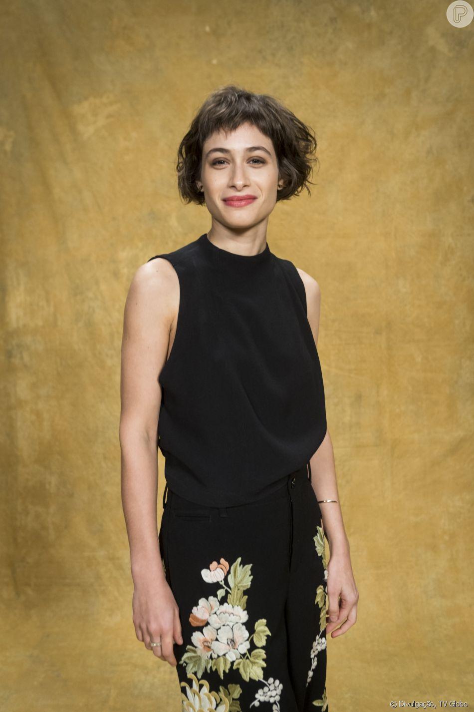 Luisa Arraes comentou as críticas ao cabelo repicado para a novela 'Segundo Sol'